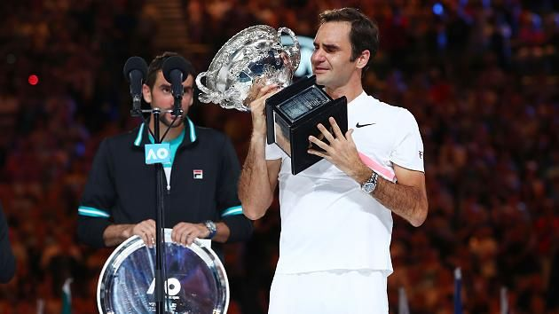 Photo #1 - Australia - Sports - roger_feder_melbourne_open_20_grand_slam