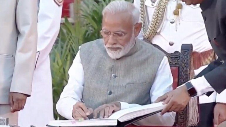 Photo #2 - India - Otta Nottathil - narendra_modi_govt_2nd_term_sworn_in